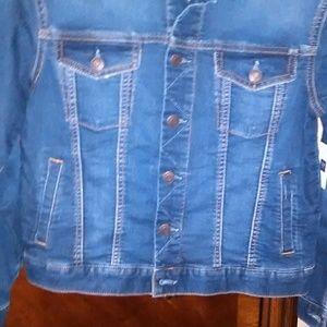 Gap XL boys blue jean jacket